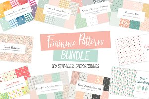 Feminine Pattern Bundle