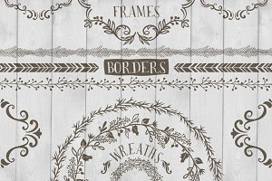 Frames, Wreaths and Borders