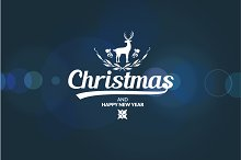 Merry Christmas Deer.