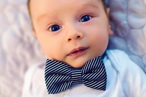 child bow tie butterfly