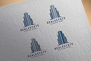 Real Estate Logo, Building Logo