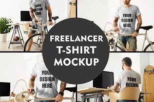 Freelancer T-shirt MockUp
