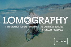 Lomo Photography Photoshop actions