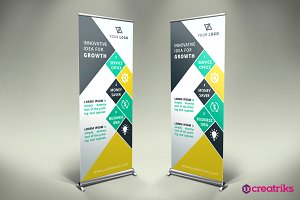 Business Roll Up Banner - v016