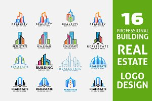 Real Estate Logo,Realty Building