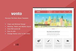 Vento - Portfolio Muse/HTML Template