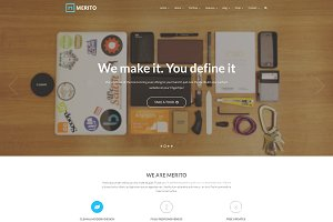 Merito -Multipurpose Joomla Template