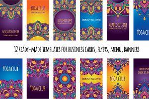 Mandala Business card, flyer