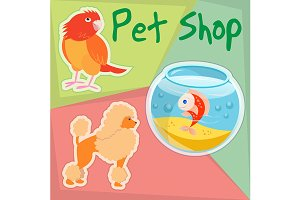 Pet Shop illustration