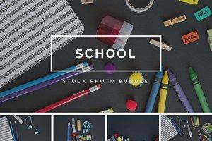 School Stock Photo Bundle