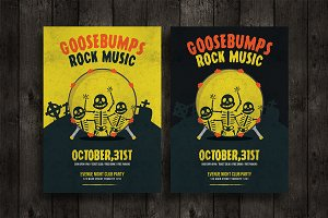 Goosebumps Rock Music