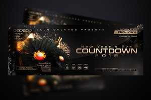 NYE Countdown Flyer Template