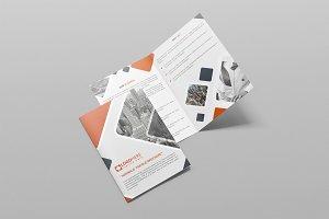 Minimalis Bifold Brochure