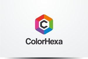 Color Hexa - Letter C Logo