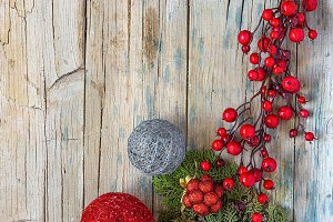 Ornaments of christmas