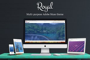 Royal Multipurpose Adobe Muse Theme