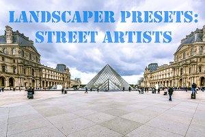 10 Landscaper Presets: Street Artist