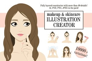 Beauty Illustration Creator