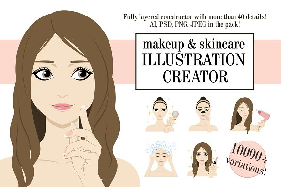 Beauty Illustration Creator