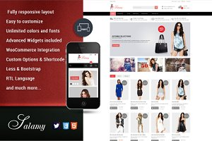 SW Salamy - Responsive WordPress The