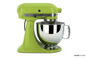 Stand mixer KitchenAid 3d model