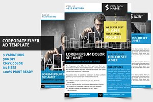 Corporate Flyer / Ad Template 01