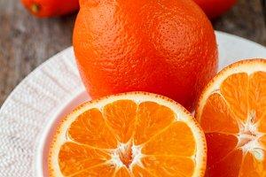 Sweet oranges ( mineola)