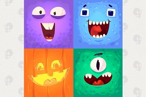 Monster faces #1