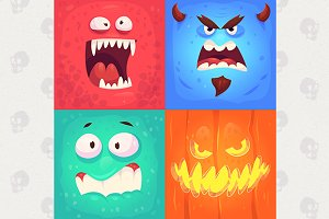 Monster faces #3