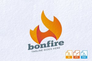 Bonfire Logo Template