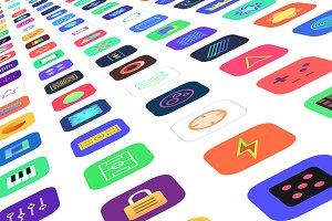 Jellycons - 100 iOS 8 App Icons
