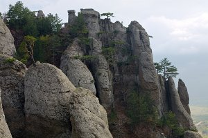 Demerdzhi Mount rocks, Crimea
