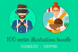 Technology and shopping bundle