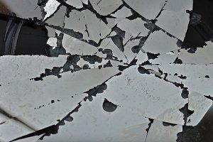 Broken Glass Fragments