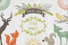 Woodland 3 Pack Bundle