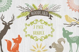 Woodland 3 Pack Bundle