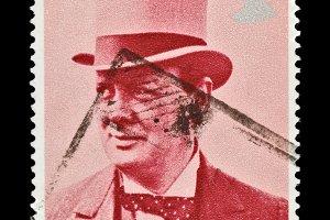 Winston Churchill Stamp