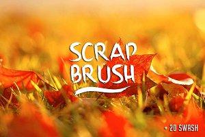Scrap Brush + swash (30% off)