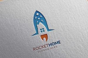 Rocket Home Logo, Real este Logo
