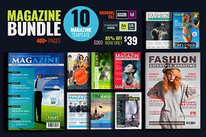 Magazine Bundle_10 Template_V01