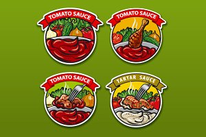 Labels for Sauce
