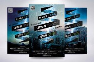 Urban Trance Flyer