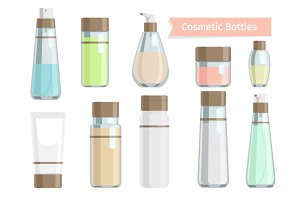 Cosmetics bottle products
