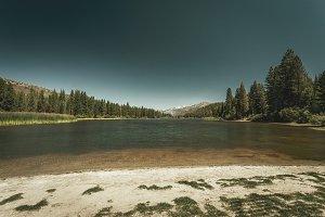 Serene Mountain Lake