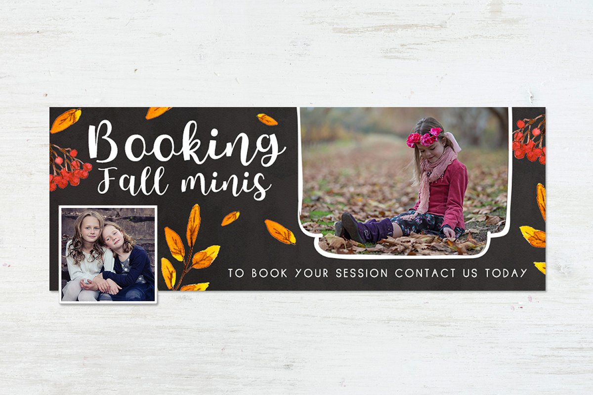cfc9eb38a FB Timeline | Fall Harvest ~ Presentation Templates ~ Creative Market