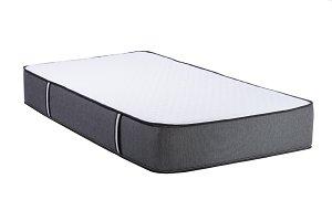 Orthopedic soft mattress isolated