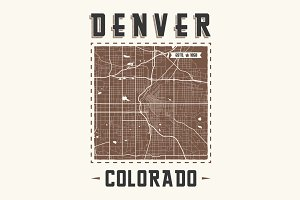 Colorado Denver t-shirt design