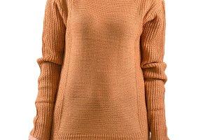 Female wear plain sweater