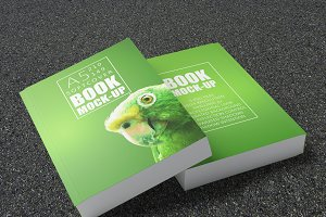 Book Mock-Up | A5 | Soft Cover
