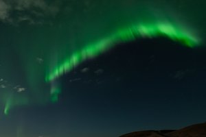 Beautiful Northern Lights in Iceland